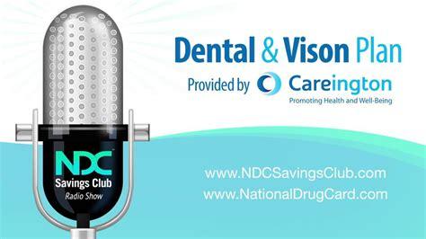 ndc savings club radio show dental vison plan