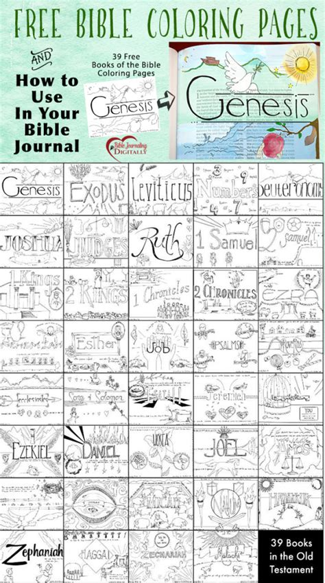 bible coloring pages bible journal idea bible