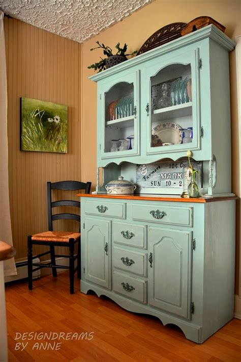 Painted Hutch Ideas - 25 best painted hutch ideas on hutch makeover