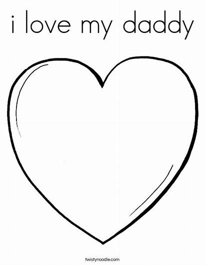 Daddy Coloring Dessin Amour Peace Coloriage Printable