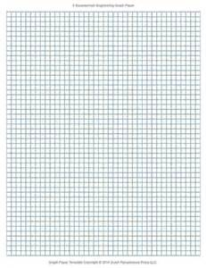 Printable Engineering Graph Paper Template