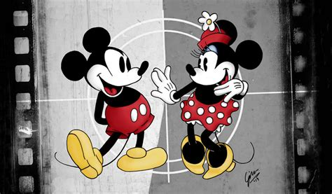 Mickey and Minnie Mouse Tumblr
