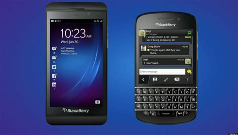 new blackberry phones z10 and q10 outed as blackberry 10 devices huffpost