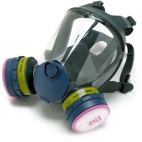 respirator full face mask  series moldex  filter