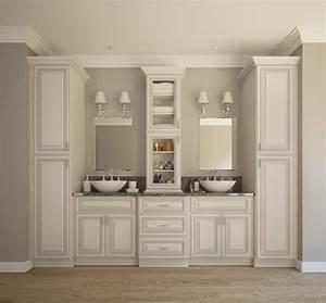 Signature Vanilla Glaze - Ready to Assemble Bathroom