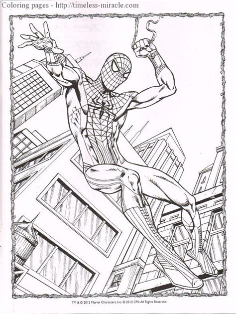Amazing Spider Coloring Pages Amazing Spider 2 Coloring Pages