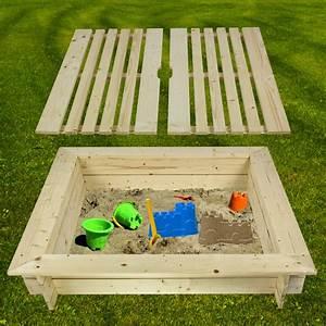 Spielzeugkiste Holz Mit Deckel : sandkasten aus holz mit abdeckung cy13 hitoiro ~ Whattoseeinmadrid.com Haus und Dekorationen