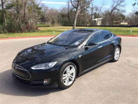 Used Electric Cars by Used 2012 Tesla Model S For Sale
