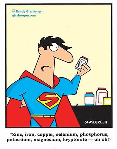 Cartoons Superheroes Superhero Comic Glasbergen Funny Magnesium