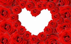 Red Roses & Love Heart Wallpapers | HD Wallpapers | ID #8639