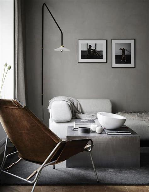 concrete gray interior design color schemes inspiration