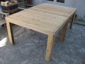 best plan pour fabriquer une table de jardin en bois With plan pour fabriquer une table de jardin en bois