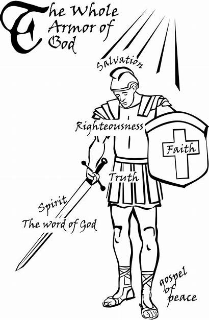 God Coloring Armor Pages Awesome Worksheets Via