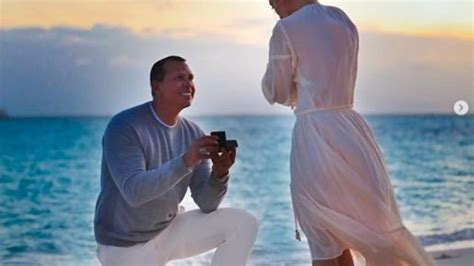 Jennifer Lopez Shares New Photos Of Her Engagement To Alex
