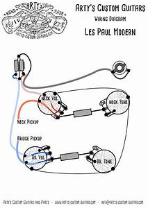 Arty U0026 39 S Custom Guitars Wiring Diagram Plan Les Paul
