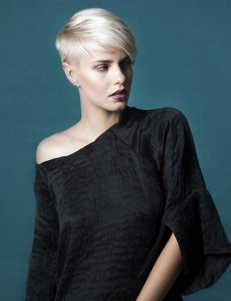 coupe courte femme moderne  coiffures  la mode de