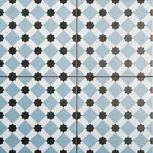 Faience Imitation Carreaux De Ciment : carrelage imitation carreau ciment sol 45 x 45 cm he1105007 ~ Dode.kayakingforconservation.com Idées de Décoration