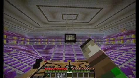 minecraft staple center lakers stadium youtube