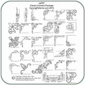 Classic, Corners, Patterns, U2013, Classic, Carving, Patterns