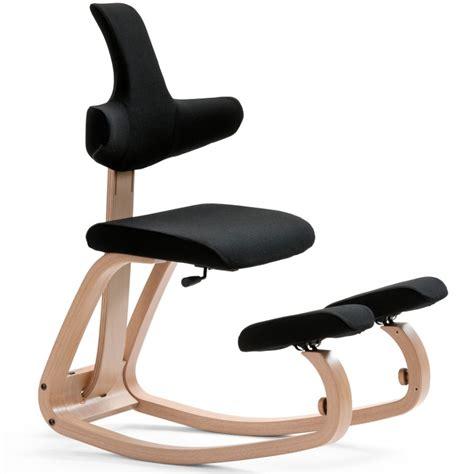 si鑒e ergonomique varier varier thatsit balans el original silla de rodillas con soporte posterior negro ebay