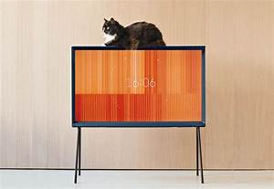 The Samsung TV by the Bouroullec Brothers - Elle Decor Italia