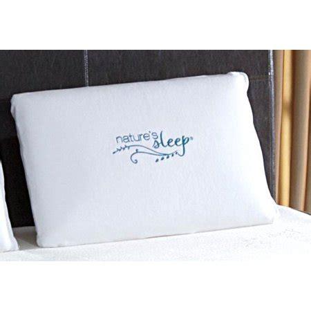 natures sleep pillows natures sleep 70100010 ns visco lite pillow