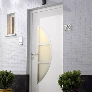 remplacement d39une porte d39entree leroy merlin With installer une porte d entree