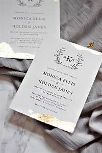 25 cute gold wedding invitations ideas on pinterest With take 2 wedding invitations