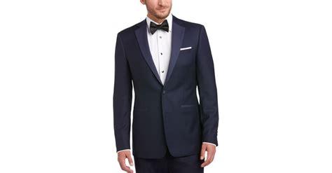 menswear house calvin klein navy slim fit tuxedo s tuxedos
