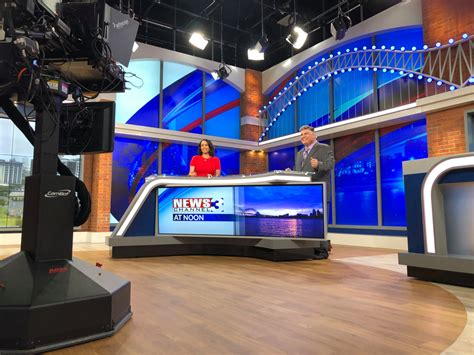 WREG News Channel 3 airing first broadcast from new set Monday
