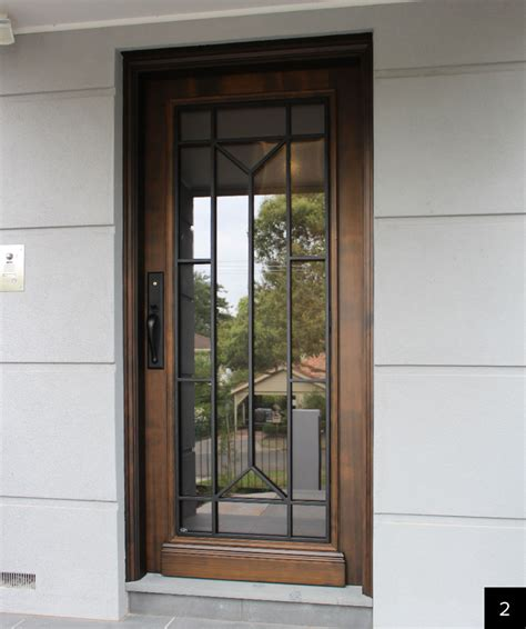 Solid Timber Entrance Doors, External Doors Melbourne