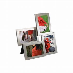 Großer Bilderrahmen Für Mehrere Bilder : bilderrahmen lira f r 4 fotos nickel 28 95 ~ Bigdaddyawards.com Haus und Dekorationen
