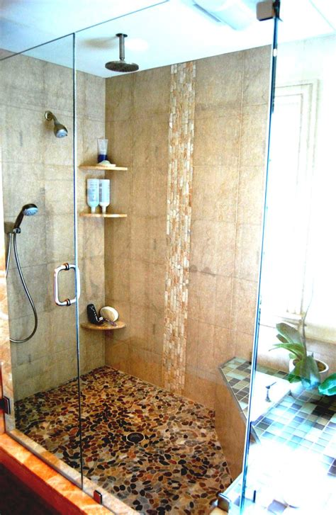 Bathroom Shower Ideas by Simple Bathrooms With Shower And White Single Sink