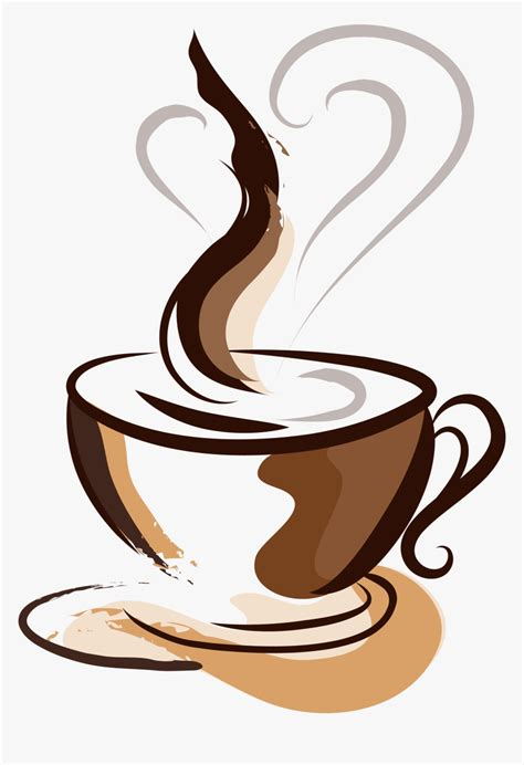 Coffee cup cafe cappuccino cupcake, coffee, tea, coffee, icon design png. Brown Coffee Cup Painted Hand Cafe Drawing Clipart - Transparent Background Coffee Png, Png ...