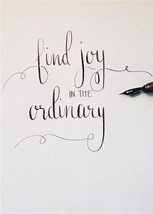 wise words - find joy in the ordinary | words | faith ...
