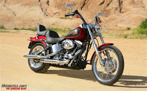 Pow! 2007 Harley-davidson Softail Custom » Motorcycle.com News