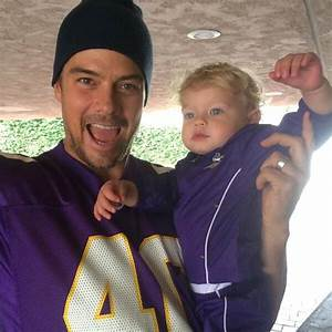 Josh Duhamel and Fergie Celebrate Game Day With the Cutest ...