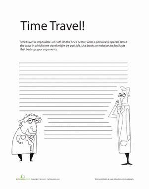 Persuasive Writing Prompt  Worksheet Educationcom