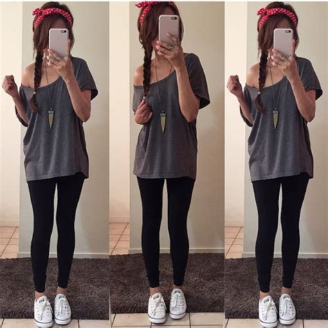 Cute Lazy Outfits With Leggings Tumblr - Sweater Vest