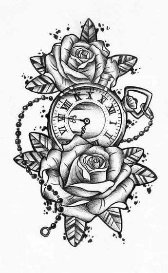 Pin by Ryan Ade on H | Watch tattoos, Pocket watch tattoos, Tattoos