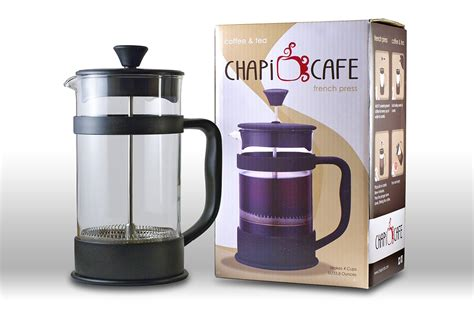 Huge selection & great prices. Amazon.com: French Press by Chapi Cafe for Coffee and Tea - Coffee Maker - 34 Ounces - 4 Cups ...