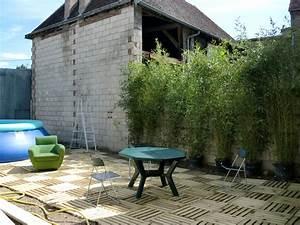 Bambou En Pot Pour Terrasse : terrasse 2011 ma ruine ~ Louise-bijoux.com Idées de Décoration