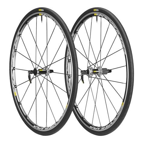 mavic ksyrium elite    wheelset black shimano