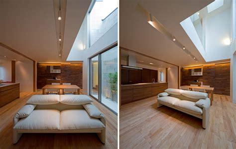 hogares frescos arquitectura japonesa moderna casa