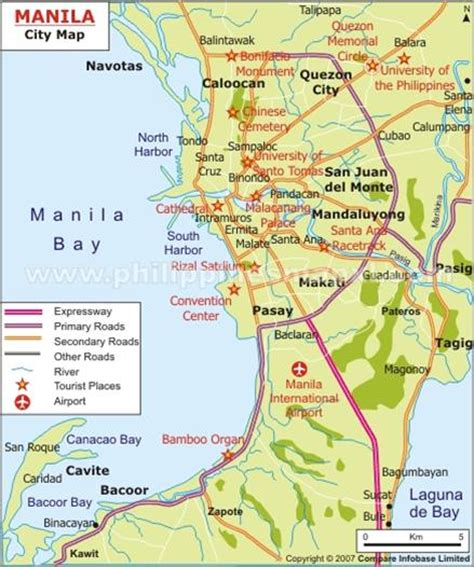 philippine maps  manila cebu davao   visa po