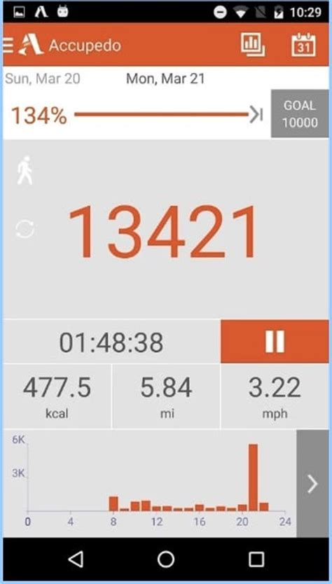 best pedometer app for android top 7 best pedometer apps for android to count your steps