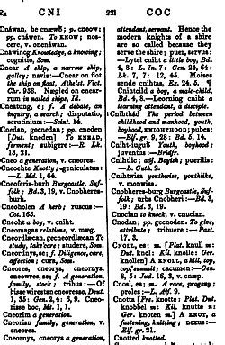 An Anglo Saxon Dictionary Wikipedia