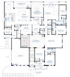 modern house floor plan contemporary courtyard house plan