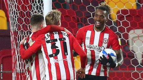 EFL: Ruthless Brentford hit seven as Lincoln City pay ...