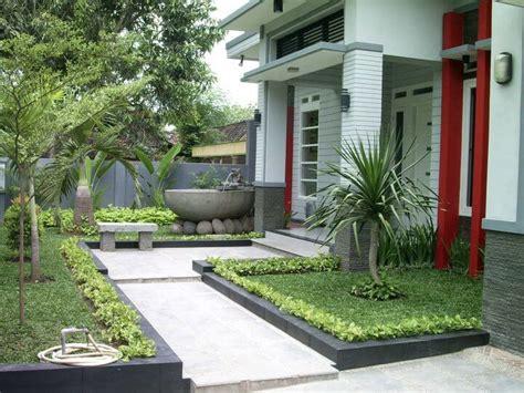 desain taman minimalis teras rumah rumah